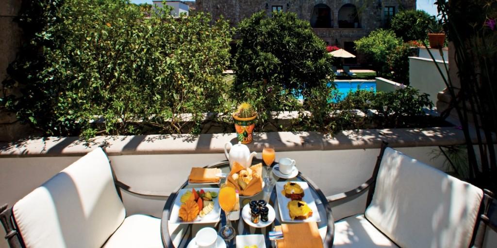 Mexico San Miguel de Allende Belmond Casa de Sierra Nevada San Miguel, Meal Patio
