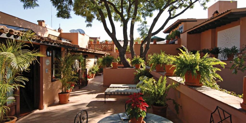 Mexico San Miguel de Allende Belmond Casa de Sierra Nevada San Miguel, Patio